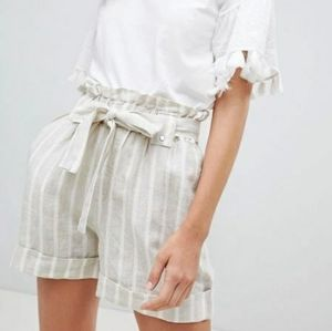 Mango Stripe Shorts